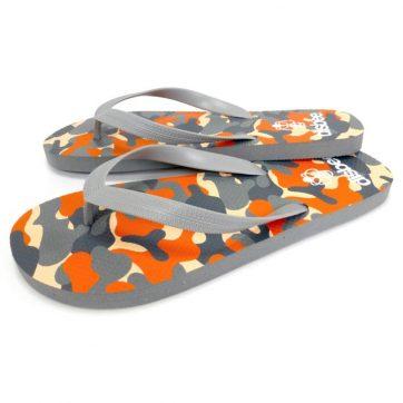 Disbee uomo camouflage arancio