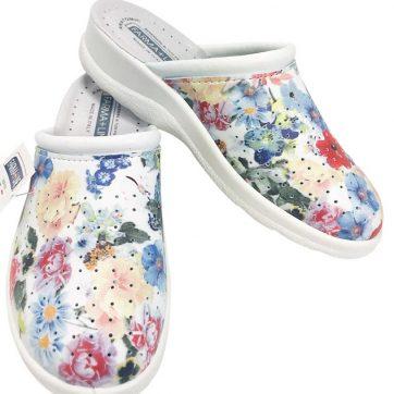 Pantofola Sanitaria Donna a fiori